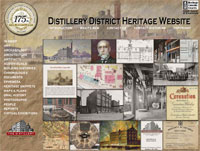 Distillery District heritage website